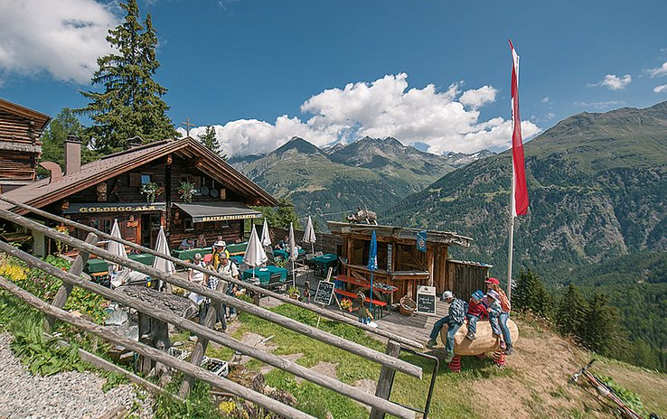 "<b>TIP:</b> Almzeit stands for ""Family Time"" in Sölden."