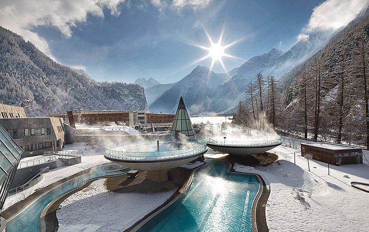 Thermal Spa Pleasures in the middle of Winter.